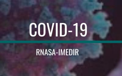 El grupo RNASA-IMEDIR crean una web con información acerca del COVID-19